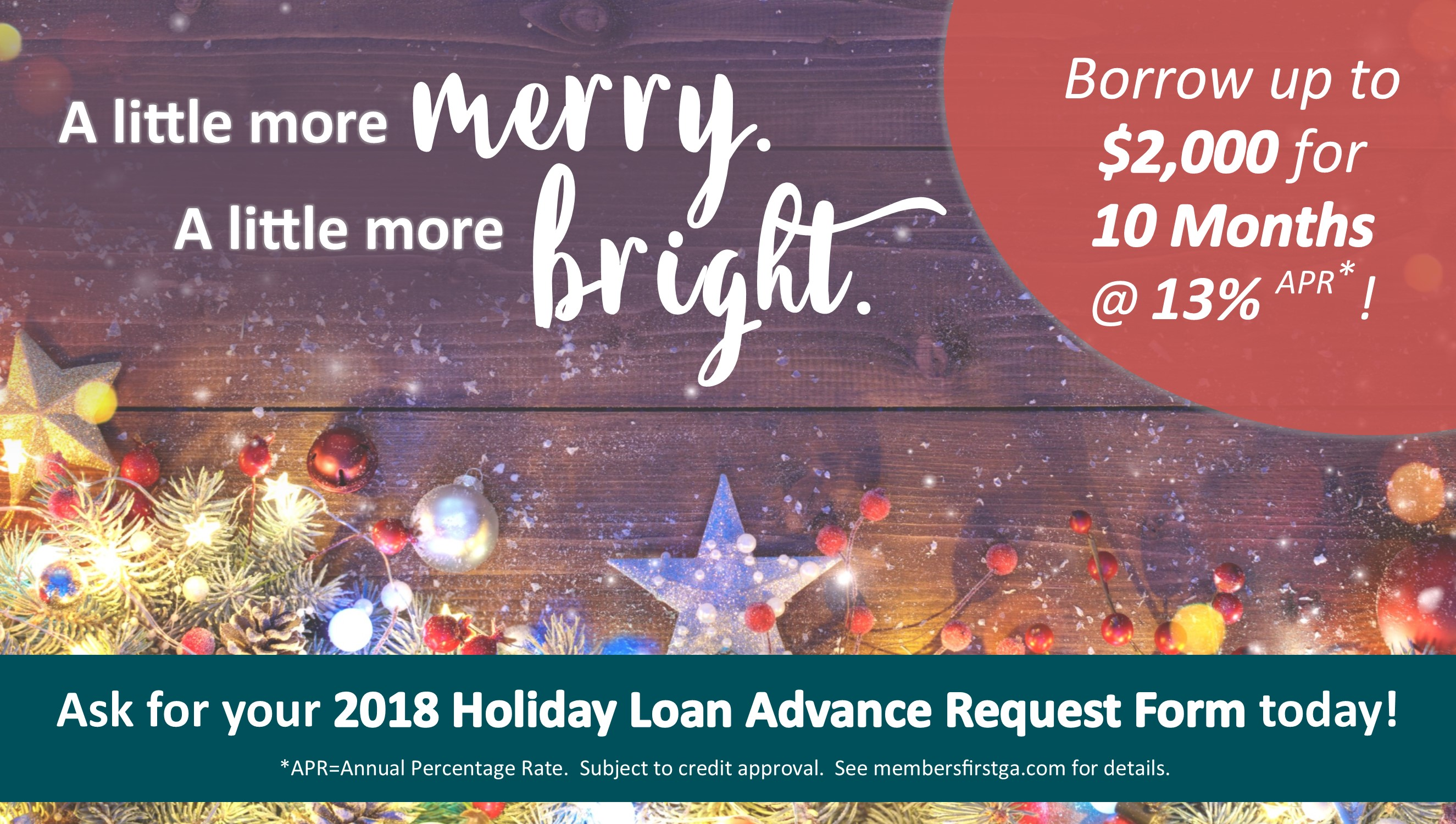 a little more merry a little more bright holiday loans are back for 2018 - Christmas Loans No Credit Check